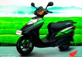 摩托车墙体广告